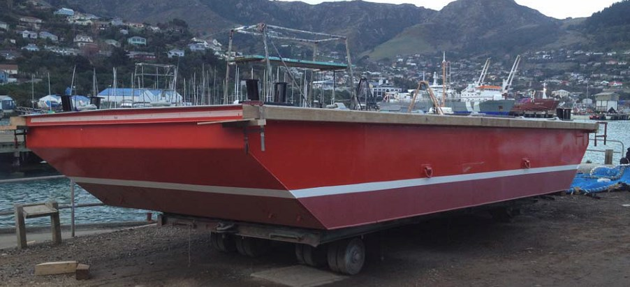 New build barge (non powered) - New Zealand Marine Brokers