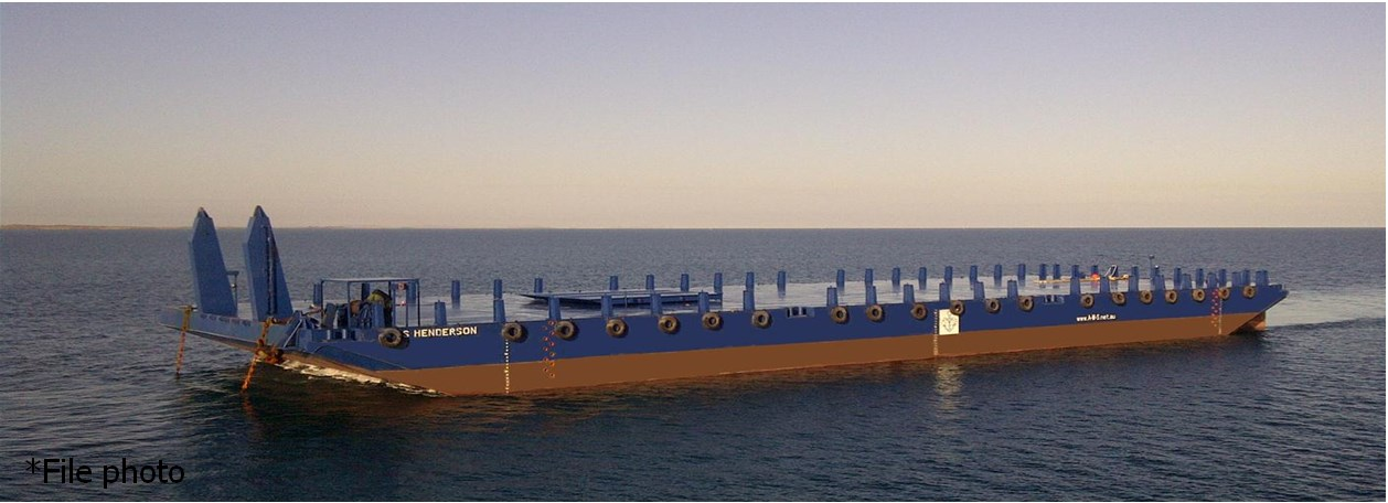 Deck Cargo Barge